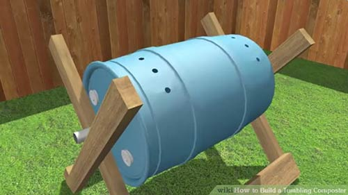 Build a Single Tumbling Composter