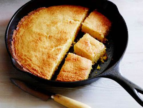 Cast Iron Skillet Corn Bread