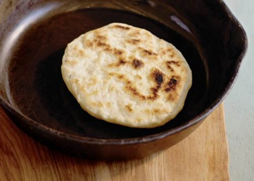 Cast-Iron Skillet Pita Bread