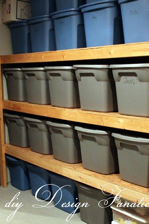 20 Diy Garage Storage And Organization Ideas Home And