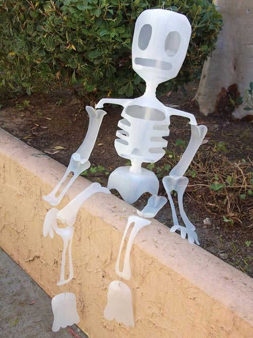 Milk Jug Skeleton