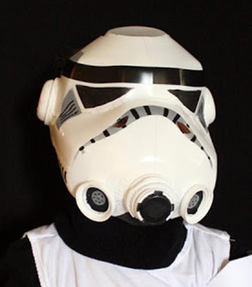 Milk Jug Storm Trooper Helmet