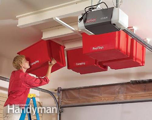 20 DIY Garage Storage and Organization Ideas - Home and ...