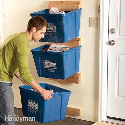 Recycle Bin Hangers