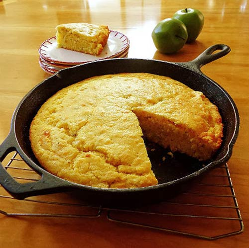 Skillet Campfire Bread Recipe