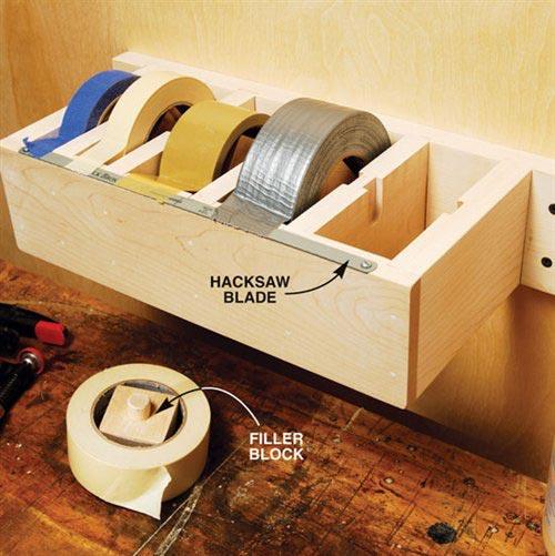 The Jumbo Tape Dispenser!