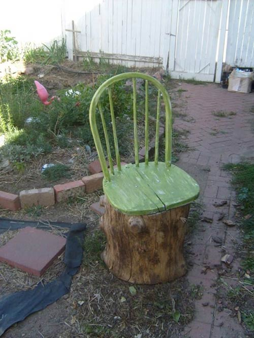12 Ways To Repurpose Tree Stumps And Logs Home And