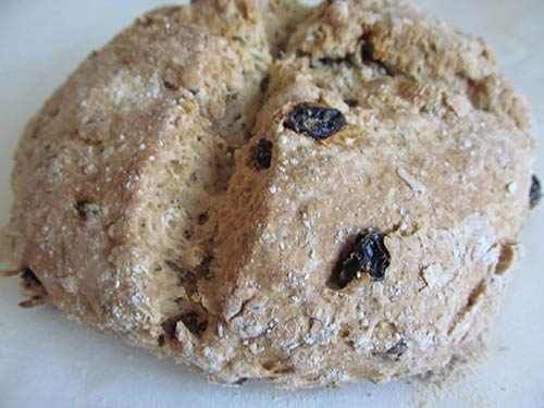 rish Soda Bread with Raisins and Caraway
