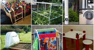 20 Creative DIY Projects Using PVC Pipe