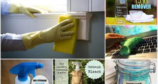 23 Homemade All-Natural Cleaning Recipes