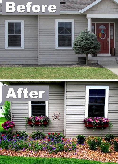 Add some window boxes