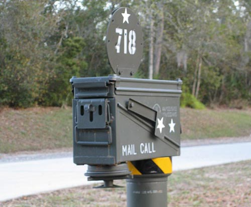 Ammo Can Mailbox