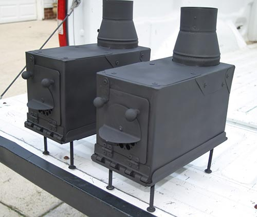 Ammo Can Stove ideas