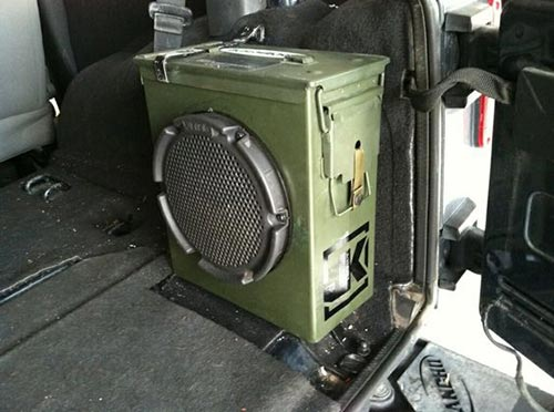 Ammo Can Sub Box