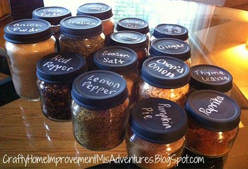 Baby Food Spice Jars