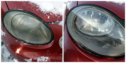 Clean Your Vehicle's Headlights