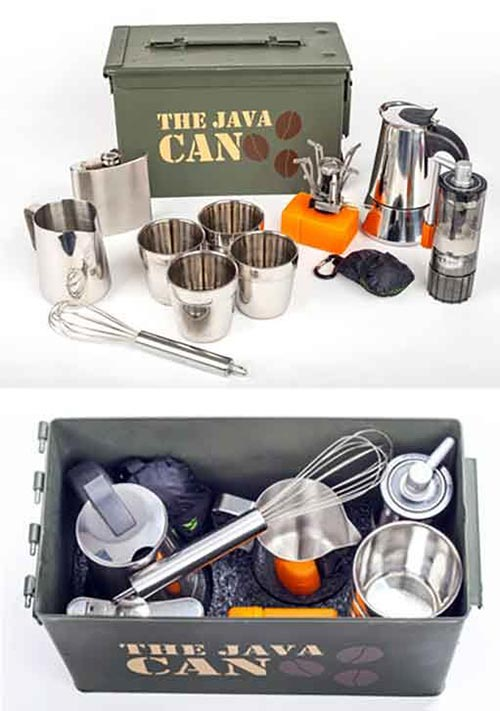 Happy (Caffeinated) Camping With 'Java Can' Kit