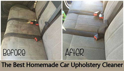 Homemade Car Upholstery Cleaner