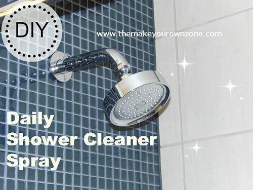 Homemade Daily Shower Cleaner Spray
