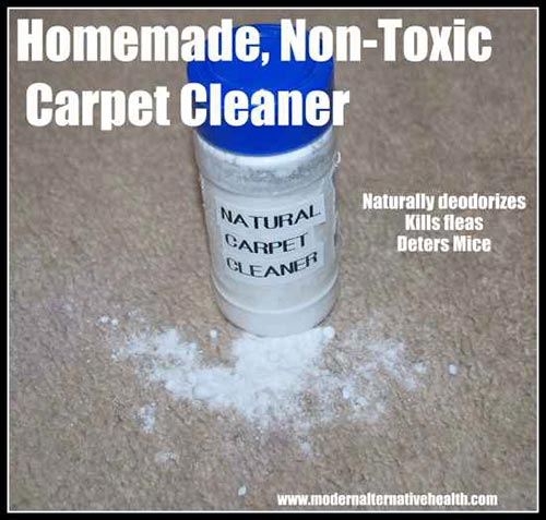 Homemade Non-toxic Carpet Cleaner