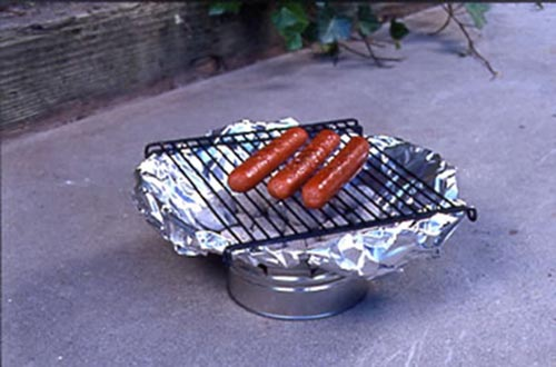 Improvised Grills. . .Create Your Own Grill