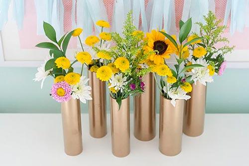 PVC Flower Vase