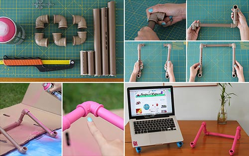 PVC Notebook Stand