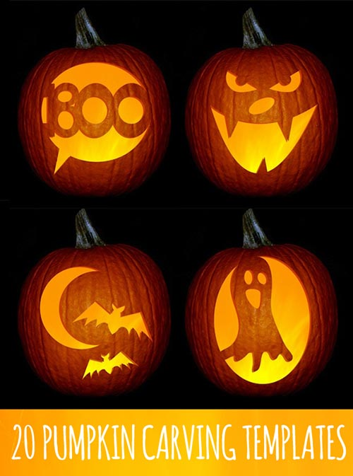 20 pumpkins carving and decor ideas for halloween home for Boo pumpkin ideas