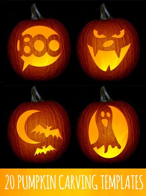 20-pumpkin-templates