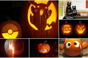 20 Pumpkins Carving And Decor Ideas For Halloween