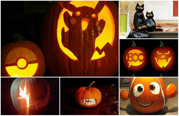 20 pumpkins carving and decor ideas for halloween - Halloween Home Ideas