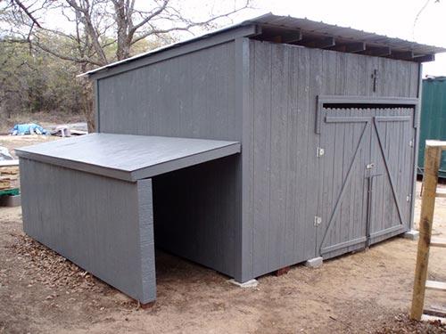 Build a Pallet Shed