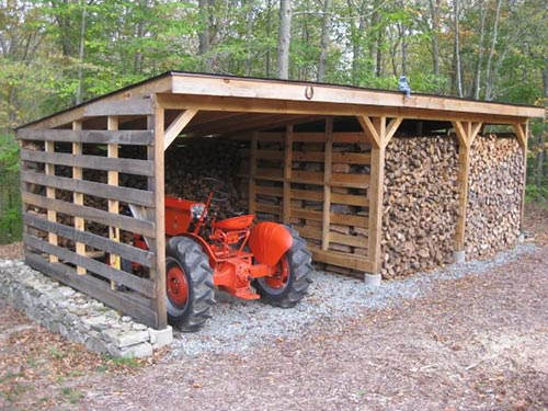 Build a Pallet Wood Shed