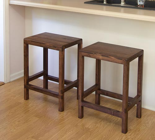 Half Lap Bar Stool