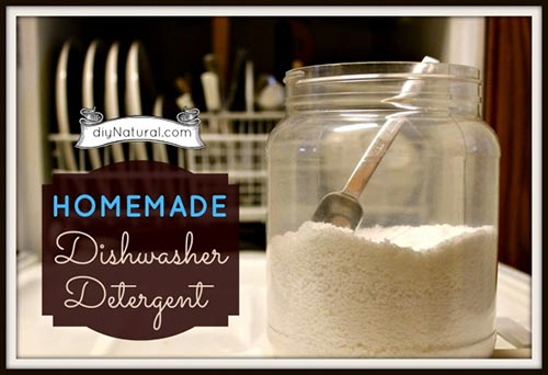 Homemade Dishwasher Detergent and Rinse Agent