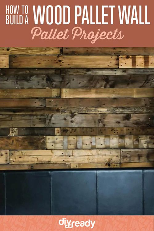How to Build a Wood Pallet Wall