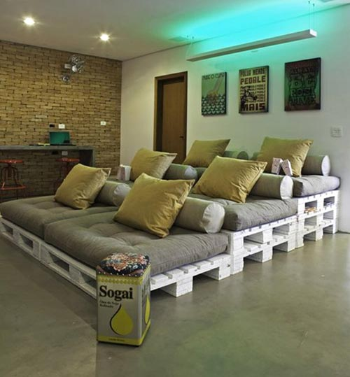Multistory Seating Area