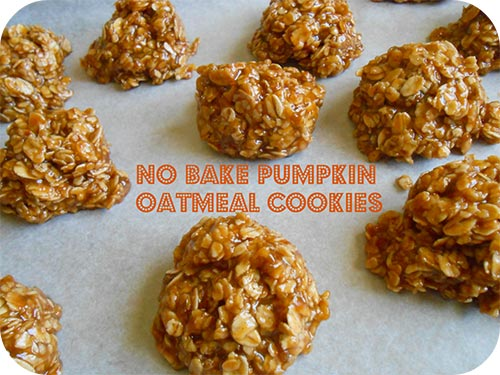 no-bake-pumpkin-oatmeal-cookies