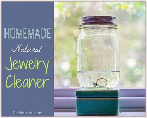 Natural Homemade Jewelry Cleaner