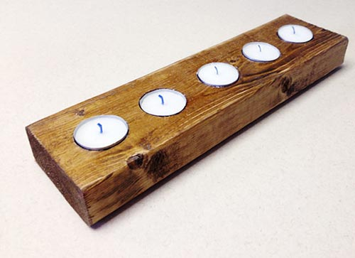 Quick And Quirky Candleholder