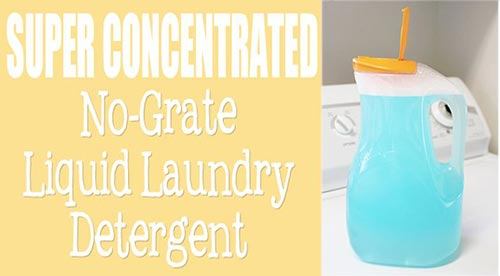 Super Concentrated Liquid Laundry Detergent