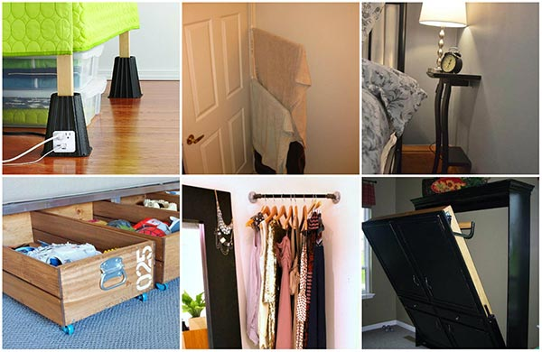 20 tiny bedroom hacks that make the most of your space - Tiny Bedroom