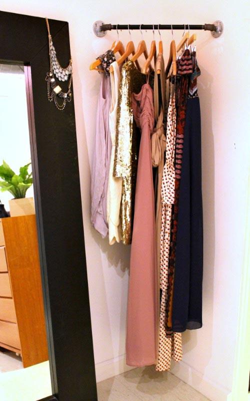 Corner Closet