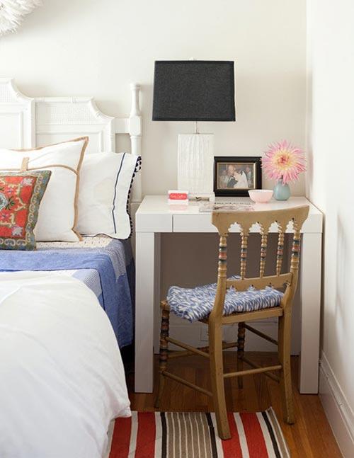 Desk As A Bedside Table