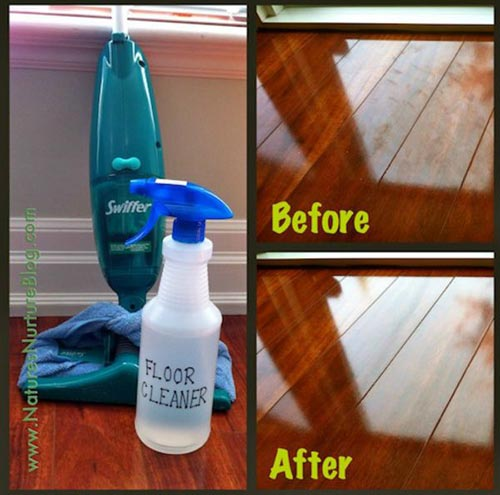 Non-Toxic Homemade Floor Cleaner Will Clean Nearly Every Surface In Your Home!