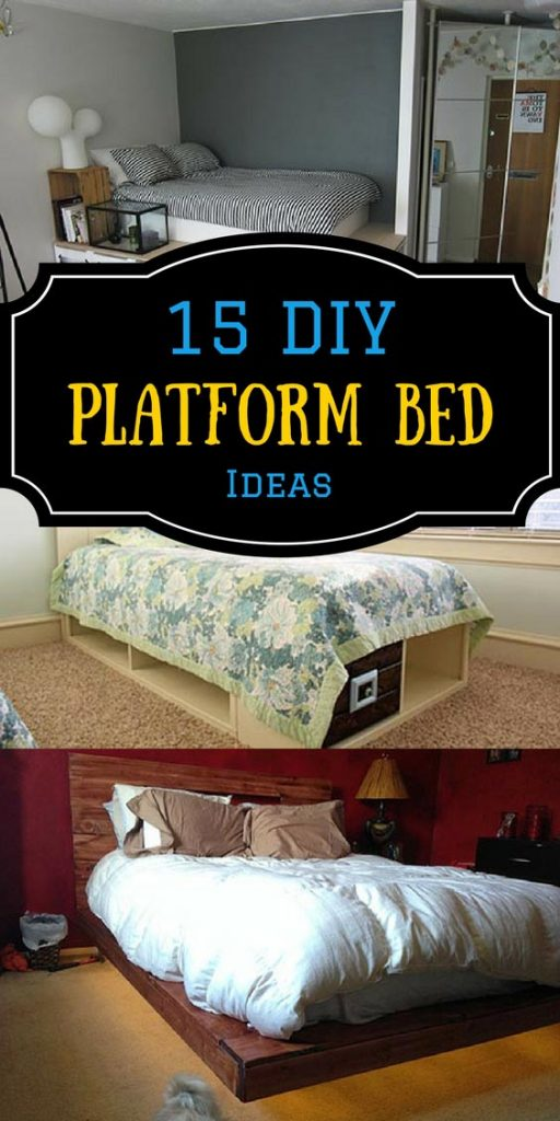 15 DIY Platform Bed Ideas