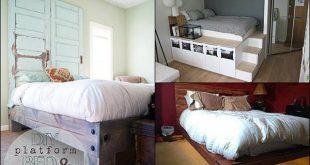 15 DIY Platform Beds Ideas