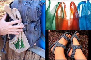 30 Survival Plastic Shopping Bag Uses & Hacks