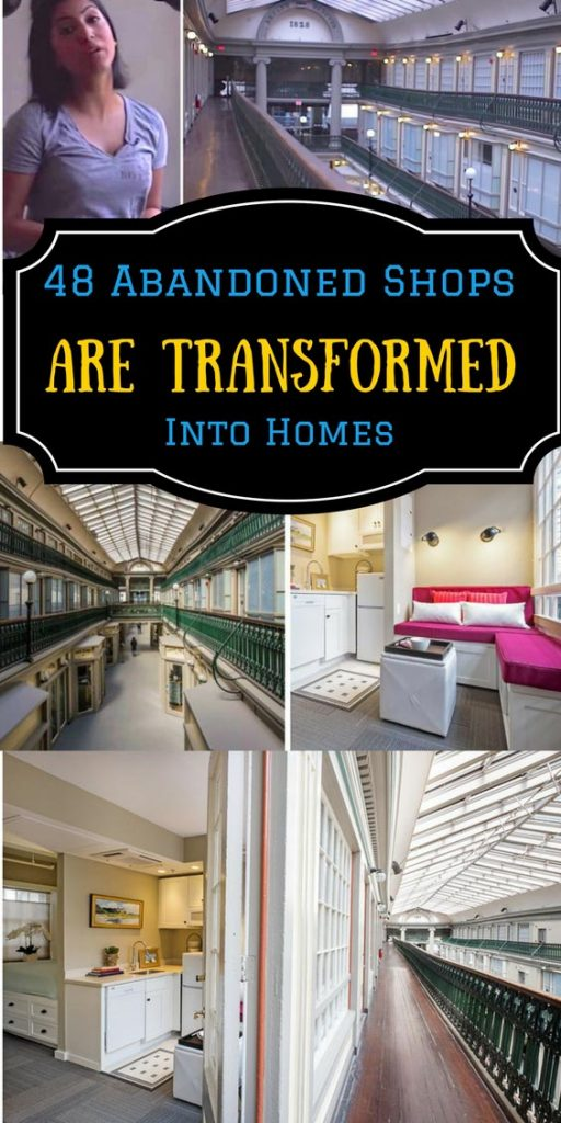 48 Abandoned Shops Are Transformed Into Homes