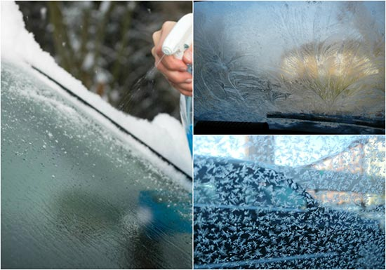 Easy Way to Clean Frost Off Car Windows Quickly